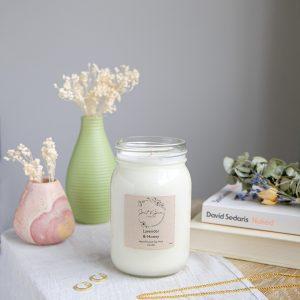 Lavender & Honey Soy Candle
