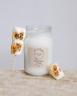 Marshmellow Fireside Soy Candle