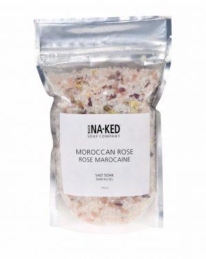Moroccan Rose Salt Soak