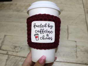 Wool Cup Cozy