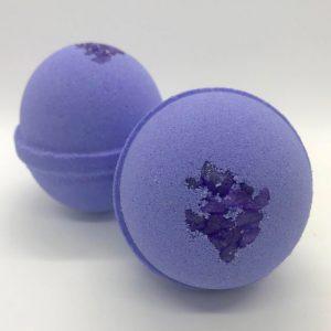 Galactic Grape Bath Bomb