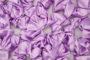 Light Lavender Scrunchie