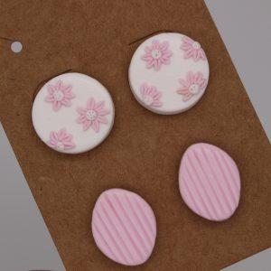 Pink on Display Earrings