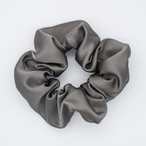 Steel Grey Scrunchie