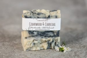 Cedarwood & Charcoal Soap from Coldwater Soap Co.