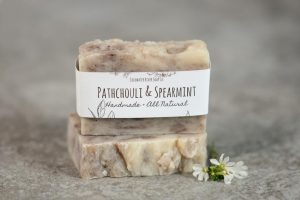 Patchouli & Spearmint Soap from Coldwater Soap Co.