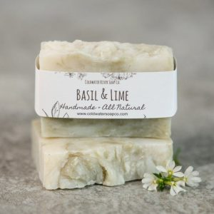 Basil & Lime Soap from Coldwater Soap Co.